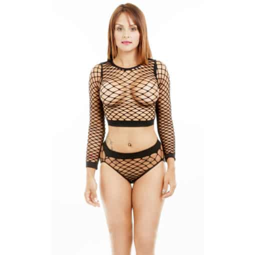 Long Sleeved Mesh Set