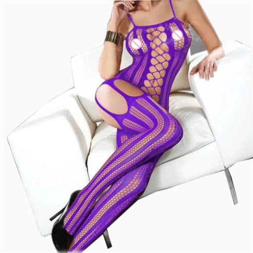 Colored Full Body Lingerie 3