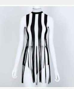 Beetlejuice Tassel Dress 2