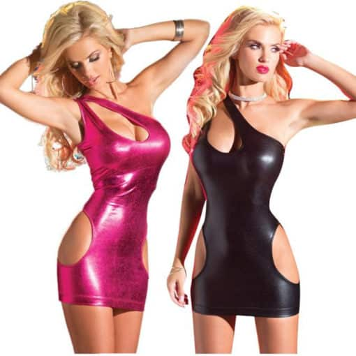 PU Leather Dress
