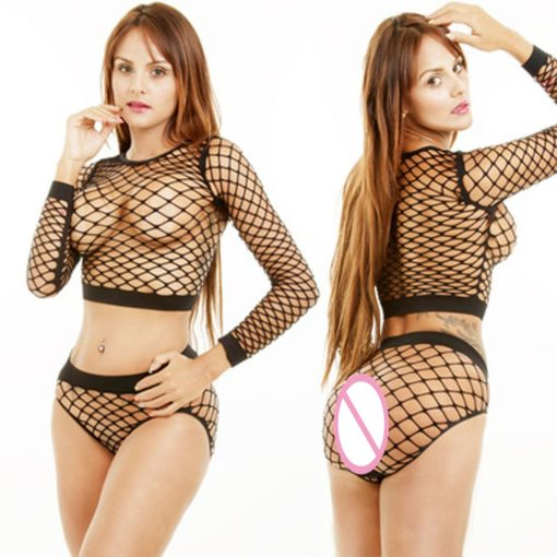 Long Sleeved Mesh Set 2