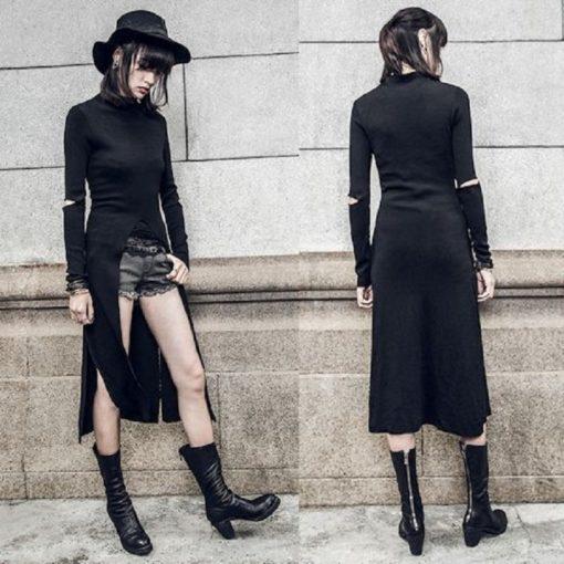 V Split Dress 1