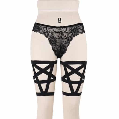 Pentagram Thigh Garter