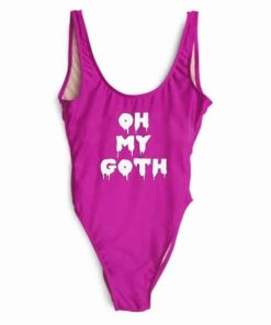OH MY DOTH women bathing suit one piece suits bodysuits backless Jumpsuits Rompers beachwear swimwear playsuit