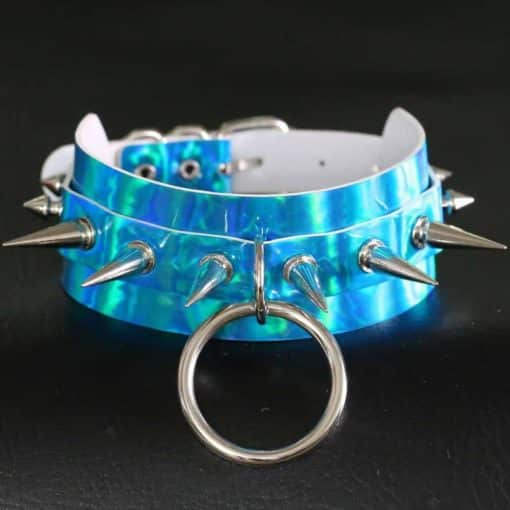 Holographic Spiked O Ring 3