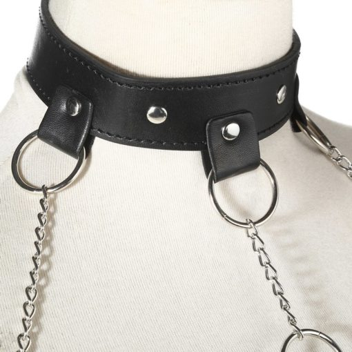 PU Leather & Chains 3