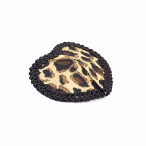 Women Leopard Nipple Cover Stickers Sexy Tepel Cover Reusable Pasties Self Adhesive Breast Tape Petals 3