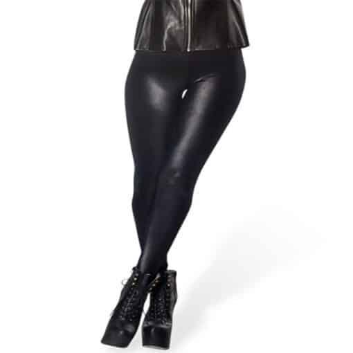 Wholesale DROP Shipping!  Women's Stretchy Digital Printed Pants Lady Elastic Sexy Hot Wet Look Black Leggings