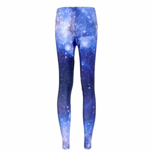 supernova sale Women Pants Space Print Leggings Milk Leggings Punk Fitness Pants Drop Shipping 1