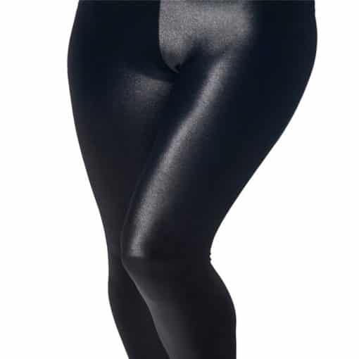 Wholesale DROP Shipping!  Women's Stretchy Digital Printed Pants Lady Elastic Sexy Hot Wet Look Black Leggings 4