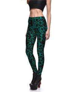 Green Leopard Print 1