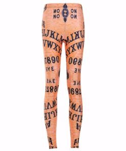 HOT Sexy Fashion Punk Leggins Pants Digital Printing Ouija Board Leggings - LIMITED For Women Fitness