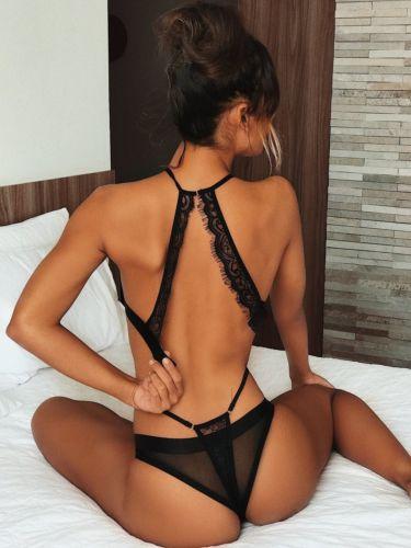 HIRIGIN Newest Sexy-Women's Lace Lingerie Nightwear Underwear Babydoll Sleepwear Tops Bra Briefs 5