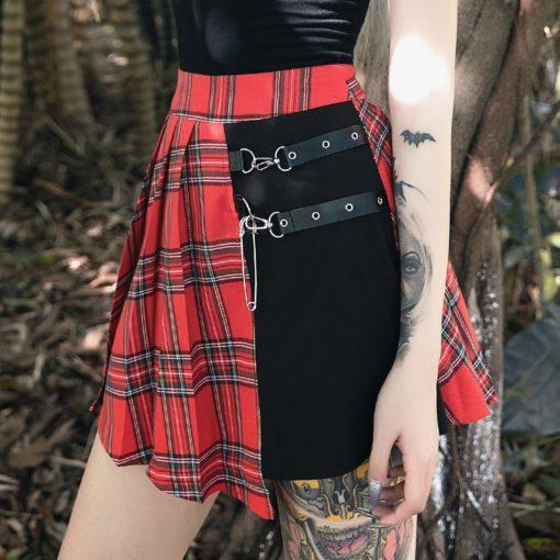 Grunge Patchwork Skirt 2