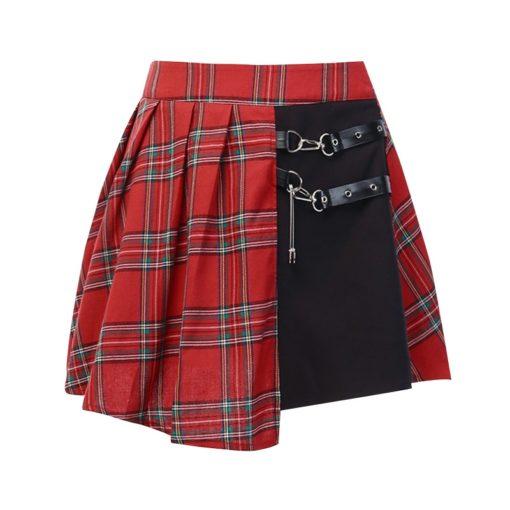 Grunge Patchwork Skirt 5