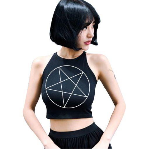 Pentagram Crop Top 1