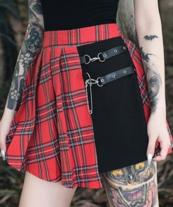 Grunge Patchwork Skirt