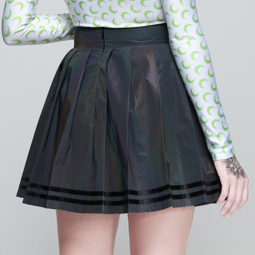 Holographic Mini Skirt 4