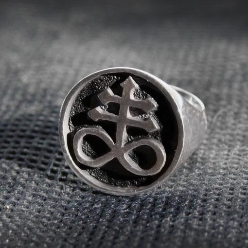 Satanic Cross Signet