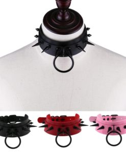 Black Spikes & O Ring (10 Colors)