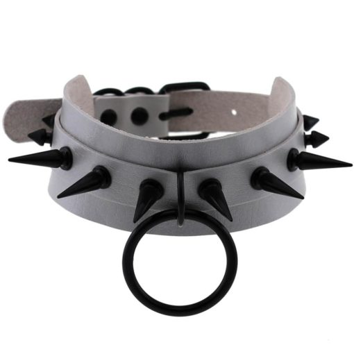 Black Spikes & O Ring (10 Colors) 4