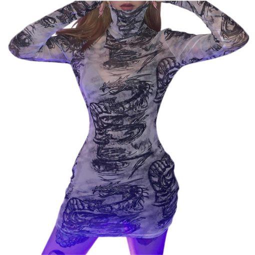 Dragon Mini Dress 1