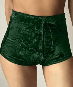 Velvet Booty Shorts 1