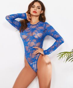 """Seduction"" Lace Bodysuit 2"
