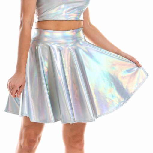 Holographic Skirt 6