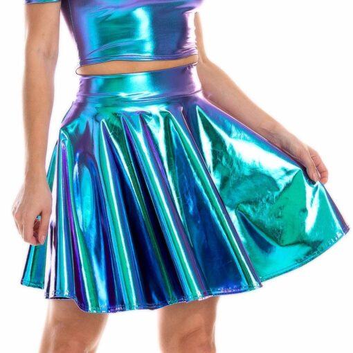 Holographic Skirt 3