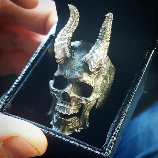 Horned Skull 1