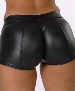 Leather Shorts  1