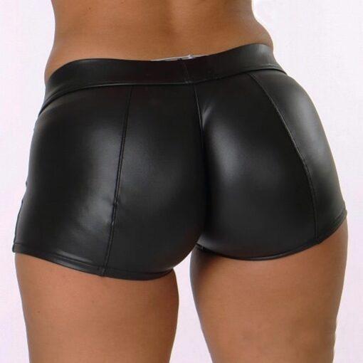 Leather Shorts  1