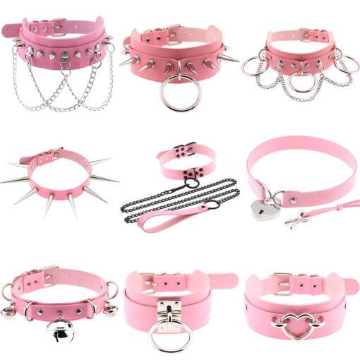 Pink Chokers 1