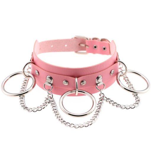 Pink Chokers 5