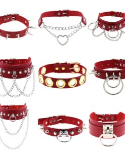 Red Chokers Silver 1