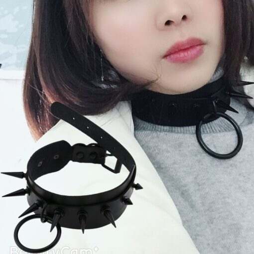 Red Chokers Silver 5