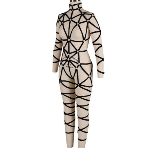 """Queen Kink"" Full Body Harness 2"