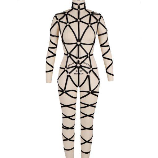 """Queen Kink"" Full Body Harness 1"