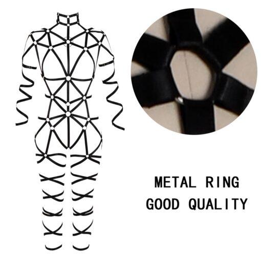 """Queen Kink"" Full Body Harness 5"