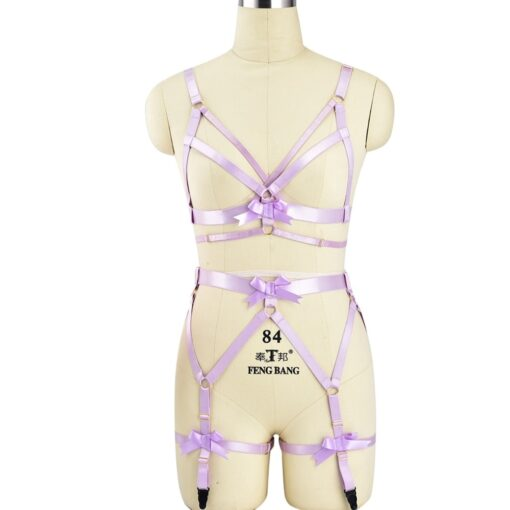 """Pink Passion"" Full Body Harness 6"