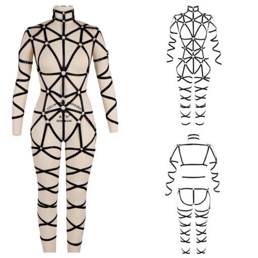 """Queen Kink"" Full Body Harness 6"