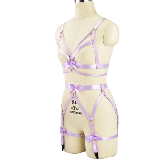 """Pink Passion"" Full Body Harness 3"