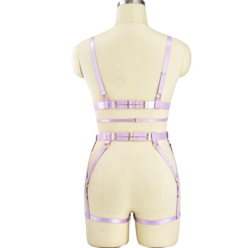 """Pink Passion"" Full Body Harness 5"