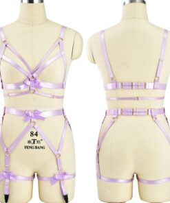 """Pink Passion"" Full Body Harness 1"