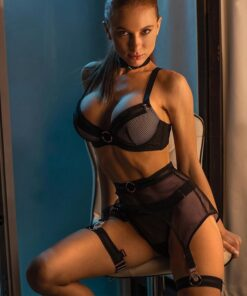 """Unholy Entrantress"" 4pcs Set Lingerie 2"