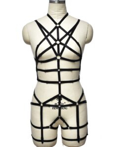 """Mistress of Evil"" Full Body Harness 1"