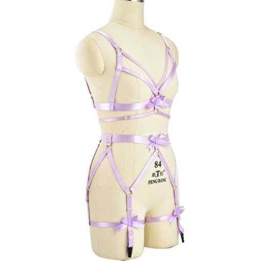 """Pink Passion"" Full Body Harness 4"